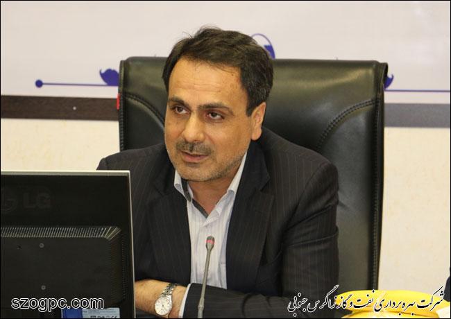 به منظور بررسی شرایط و اطمینان از آمادگی جهت تامین گاز زمستانی ، مهندس رامین حاتمی مدیر عامل شرکت نفت مناطق مرکزی ایران از منطقه عملیاتی نار بازدید کرد 4