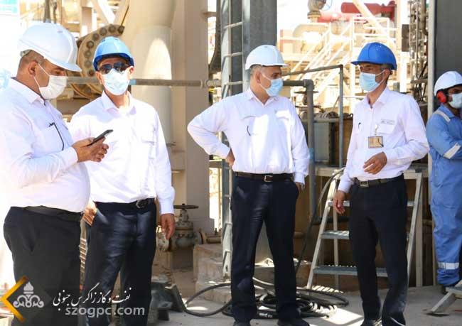 تعمیرات اساسی مراکز تفکیک سه گانه و خطوط لوله جریانی چاه های ناحیه نار 7