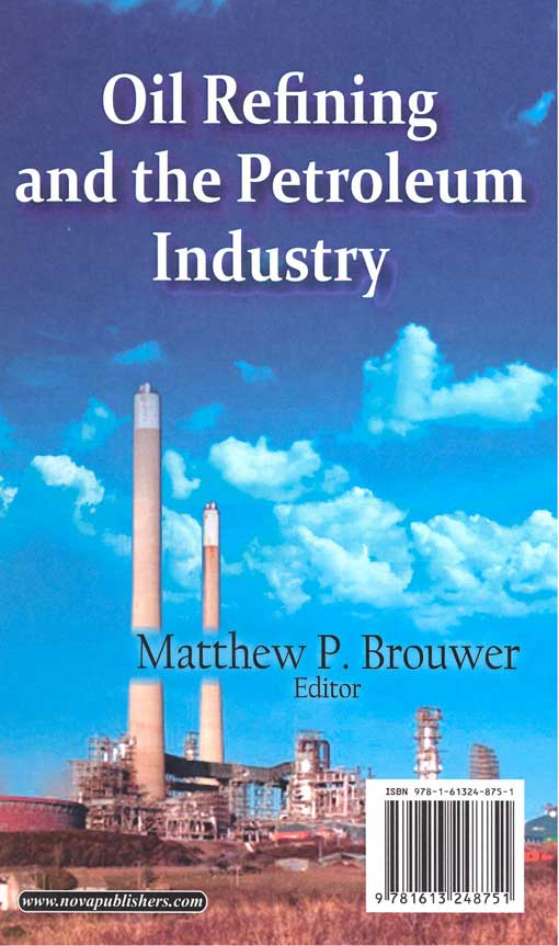 Oil Refining and the Petroleum industry 2